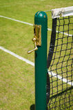 Tennis net stock photo