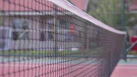 Tennis net stock video