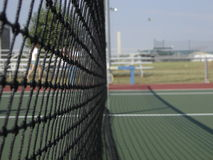 Tennis-Netz Stockfotos