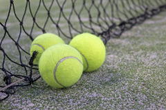 Tennis oder Paddelkugeln Lizenzfreie Stockbilder