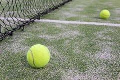 Tennis oder Paddelkugeln Stockfotografie