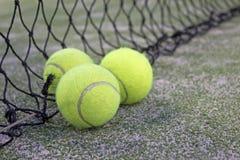 Tennis ou billes de palette Images libres de droits