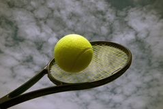 Tennis outdoors Royalty Free Stock Photos