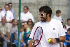Tennis player Stock Image