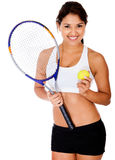 Tennis player Royalty Free Stock Image