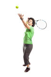 Tennis player Stock Photography