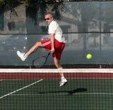 Tennis player royalty free stock photo