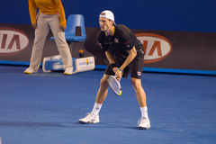 Tennis player Andreas Seppi Royalty Free Stock Image