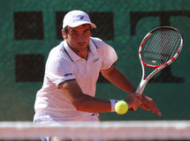 Tennis player BENJAMIN BALLERET Stock Image