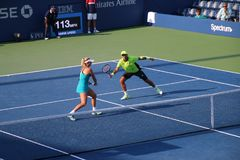 CoCo Vandeweghe & Horia Tecau Royalty Free Stock Photos