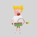 Tennis Player Royalty Free Stock Image
