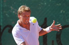 Tennis player FLORENT SERRA Royalty Free Stock Photography