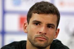 Tennis player Grigor Dimitrov portrait Royalty Free Stock Photography
