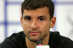 Tennis player Grigor Dimitrov portrait Royalty Free Stock Photos