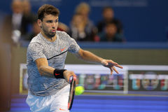 Tennis player Grigor Dimitrov Stock Photography