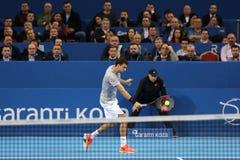 Tennis player Grigor Dimitrov Royalty Free Stock Photos