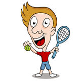 Tennis Player Royalty Free Stock Photos