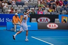 Tennis player Juan Monaco Royalty Free Stock Photography