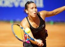 Tennis player Laura Pous-Tio Royalty Free Stock Photos