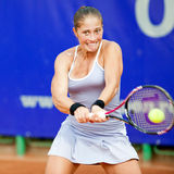 Tennis player Madalina Gojnea during BCR Open Stock Photography