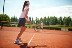 Tennis player play tennis Stock Photos