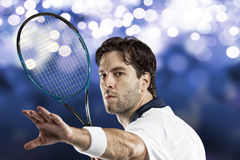 Tennis Player. Royalty Free Stock Photo
