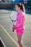 Tennis player. Portrait royalty free stock photos