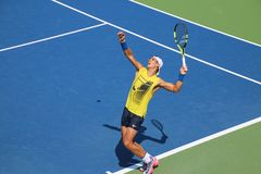 Nadal. Tennis player Rafael Nadal at the 2017 US Open tennis grand slam Royalty Free Stock Photos