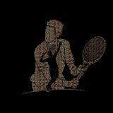Tennis player sports man Royalty Free Stock Photo