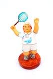 Tennis player statue Stock Photos