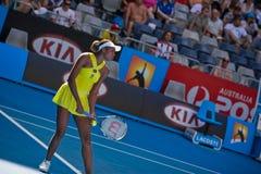 Tennis player Venus Williams Stock Photography