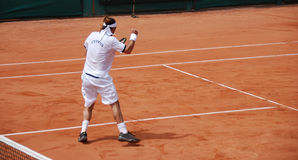 Tennis player .. The Victory Royalty Free Stock Image