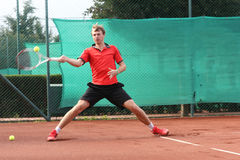 TENNIS player (young man) Stock Photography
