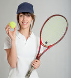 Tennis player Royalty Free Stock Photo