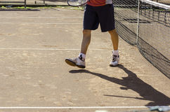 Tennis player Royalty Free Stock Photography
