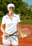 Tennis players Stock Images