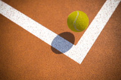 Tennis point Royalty Free Stock Photography