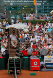 Tennis Power Horse World Team Cup 2012. This tennis event which is held annually in Düsseldorf Germany is the official Tennis , Teams world Championships. There Stock Image