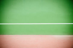Tennis practice wall Royalty Free Stock Images