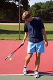 Tennis Pro Playing Royalty Free Stock Images