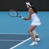 tennis professionale del giocatore del fra Marion di bartoli Fotografia Stock Libera da Diritti