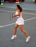 tennis professionale del giocatore del fra Marion di bartoli Immagini Stock Libere da Diritti