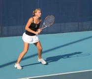 tennis professionale del giocatore di Olga di govortsova del blr Fotografie Stock