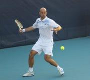 tennis professionale del giocatore ljubicic ivan dell'Ass.Comm. Fotografie Stock