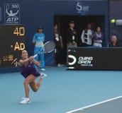 tennis professionale di srb del giocatore jankovic di jelena Immagini Stock Libere da Diritti