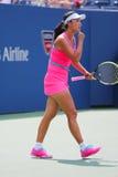 Tennis professionista Shuai Peng dalla Cina durante la partita rotonda 4 Fotografie Stock