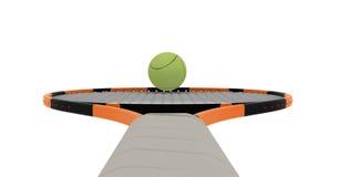 Tennis racket Stock Images