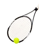 Tennis racket and ball Royalty Free Stock Image