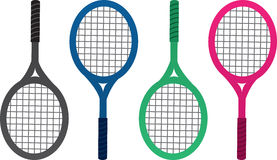Tennis Racket Colors Royalty Free Stock Photography