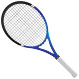 Tennis racket. Tennis gear for the game. Vector illustration stock illustration